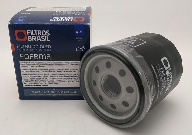 FILTRO DE OLEO FILTROS BRASIL FOFB018 PSL129 COROLLA FOISON LIFAN 320 530 X60 YARIS