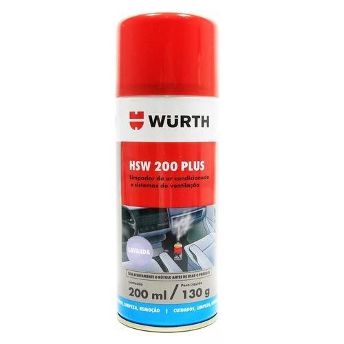 LIMPA AR CONDICIONADO WURTH HSW 200 PLUS LAVANDA SOFT 200 ML