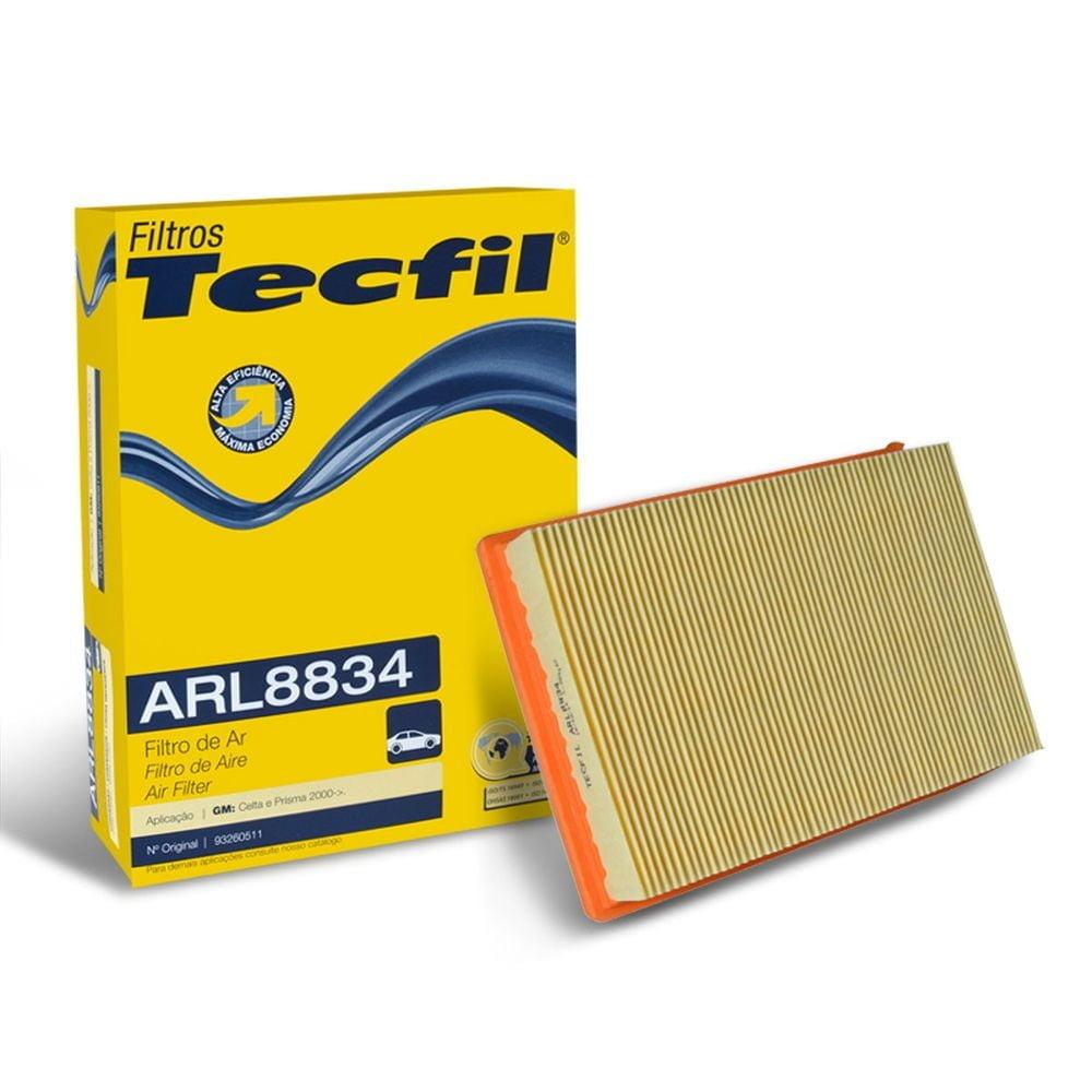 FILTRO DE AR TECFIL ARL8834 - GM CHEVROLET CELTA 1.0/1.4 2000 A 2009 PRISMA 1.0/1.4 2006 A 2012