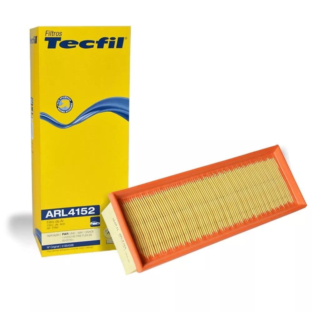 FILTRO DE AR TECFIL ARL4152 - FIAT FIORINO / GRAND SIENA / MOBI / PALIO / PUNTO / UNO 1.0 1.4 EVO