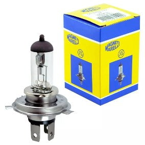 LAMPADA H4 60/55W 12V STANDARD ORIGINAL MAGNETI MARELLI
