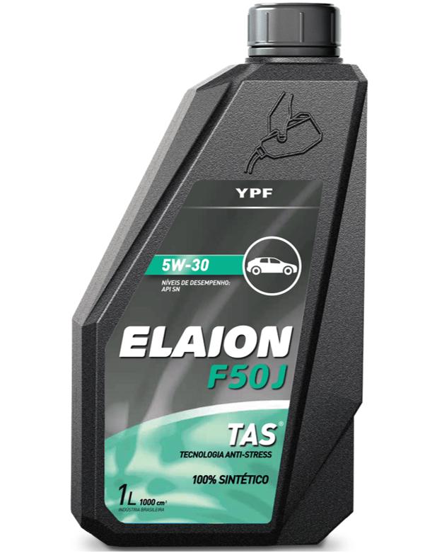 OLEO YPF ELAION F50J 5W30 SINTETICO API SN 1L - TOYOTA LEXUS HYUNDAI FIAT NISSAN