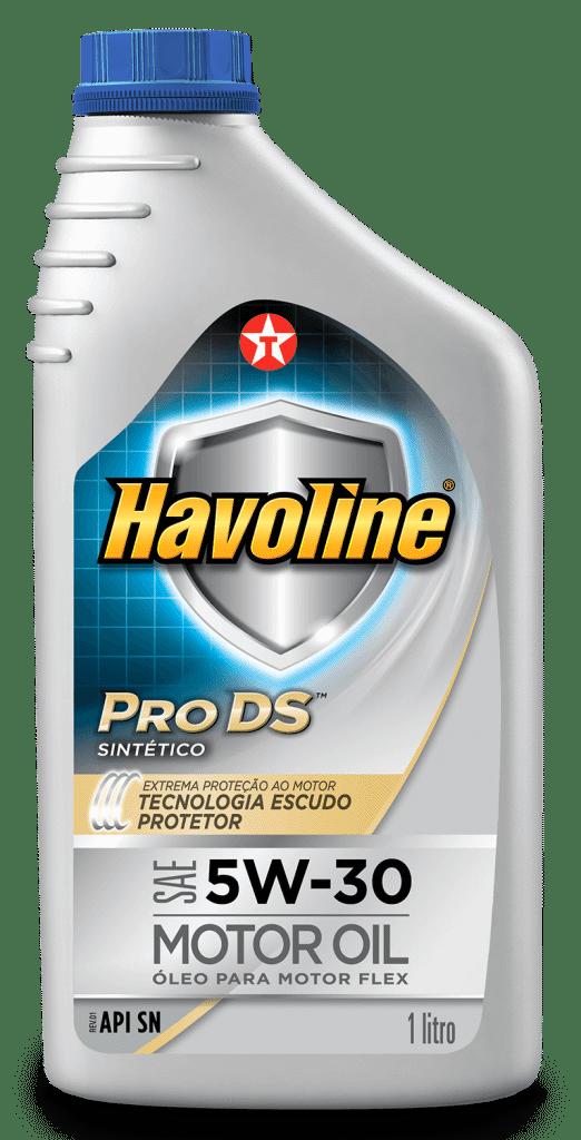 OLEO HAVOLINE SINTETICO 5W30 PRO DS API SN 1L