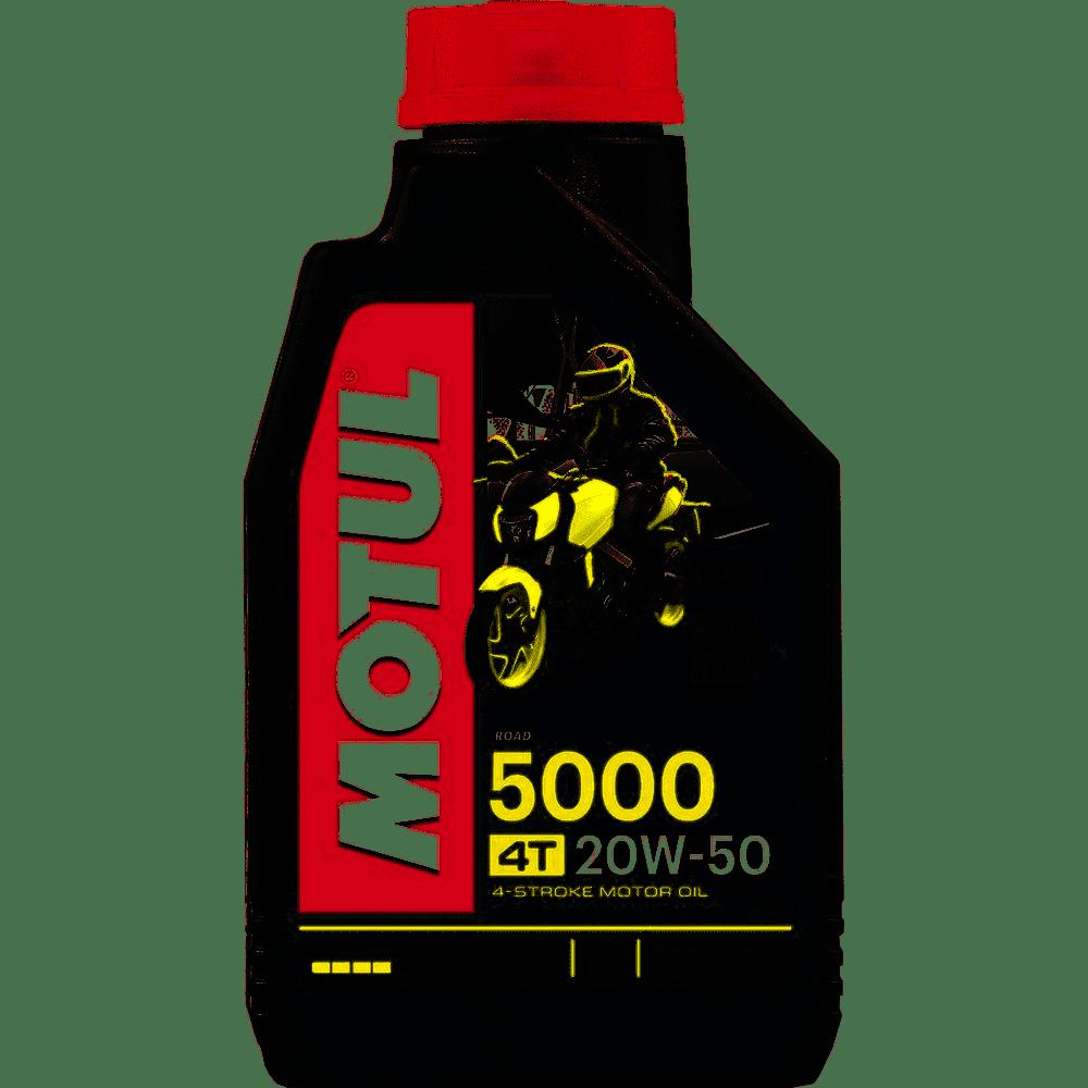 ÓLEO MOTO MOTUL 5000 20W50 4T HC-TECH 1L