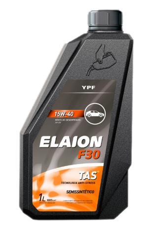 OLEO MOTOR YPF ELAION F30 15W40 SEMISSINTETICO TAS 1L