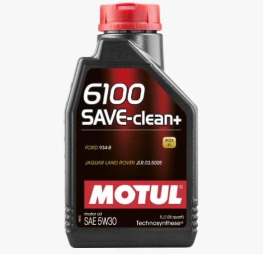 ÓLEO MOTUL 6100 SAVE CLEAN+ 5W30 1L