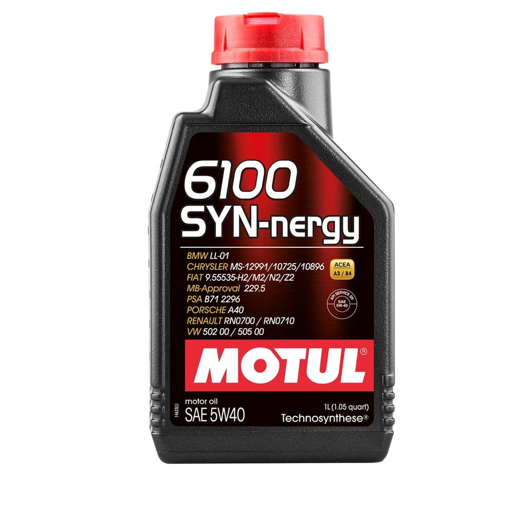 OLEO MOTUL 6100 SYN-NERGY 5W40 1L