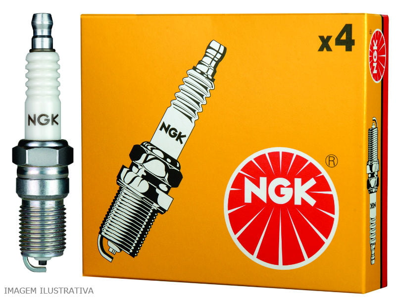 JOGO DE VELAS DE IGNIÇÃO NGK BKR7ESB-D - VW GOL PARATI SAVEIRO GOLF POLO SPACEFOX CROSSFOX FOX KOMBI VOYAGE G5