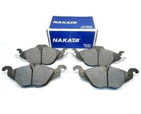 PASTILHA DE FREIO DIANTEIRO NAKATA NKF1033P  GM ASTRA 1.8 2.0 ARO 14 1998 ACIMA
