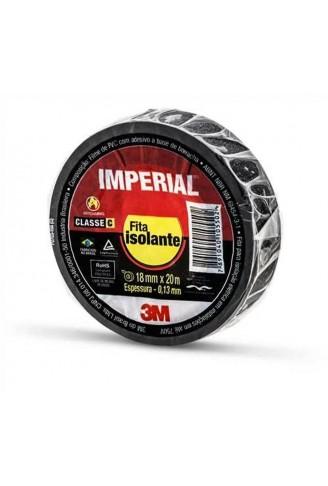 FITA ISOLANTE 3M IMPERIAL 20 METROS PRETA