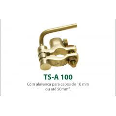 TERMINAL DE BATERIA COM ALAVANCA CABO DE 10MM A 50MM TSA100
