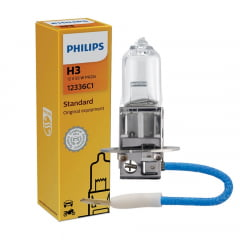 LAMPADA FAROL HALOGENA H3 12V 55W H3-12336-CI