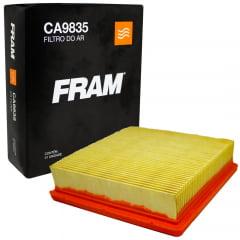 FILTRO DE AR FRAM CA9835 ARM442/1 ARM446/1 LX3109  HONDA CG125 FAN CG150 OHC 150 NXR 125 BROS ES  NXR160 POP 100 XRE 190