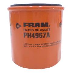 FILTRO DE ÓLEO FRAM PH4967A  PSL129 OC534 JFO210/1 LIFAN X60 TOYOTA  COROLLA  ETIOS  YARIS