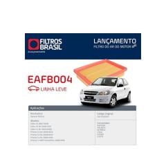 FILTRO DE AR FILTROS BRASIL EAFB004 ARL8834 GM CELTA PRISMA