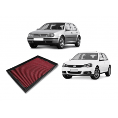 FILTRO DE AR ESPORTIVO INBOX RS VW GOLF SPACE FOX POLO 1.6 8V FLEX (FILTRO EM CIMA DO MOTOR)