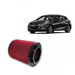 FILTRO DE AR ESPORTIVO INBOX RS GM CHEVROLET CRUZE TURBO 1.4
