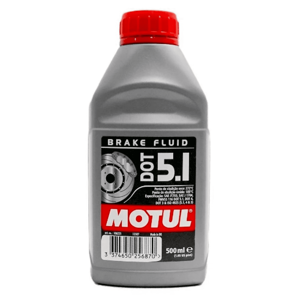 FLUIDO DE FREIO MOTUL DOT 5.1 BRAKE FLUID 500ML