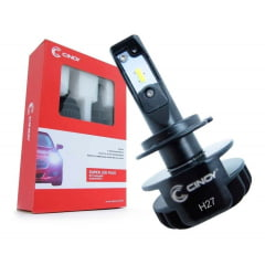KIT LAMPADA SUPER LED H27 PLUS CINOY 6500K 6000 LUMENS 12V