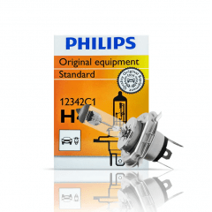 LAMPADA H4 12V 60/55W STANDARD ORIGINAL PHILIPS