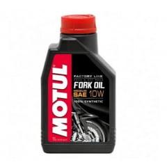 ÓLEO DE SUSPENSÃO MOTUL FORK OIL FACTORY MEDIUM 10W 1L