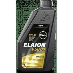 ÓLEO YPF ELAION F50 D1 GM API SN 5W30 SINTETICO 1L
